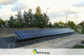 instalacja fotowoltaiczna wykonana przez APP Energy