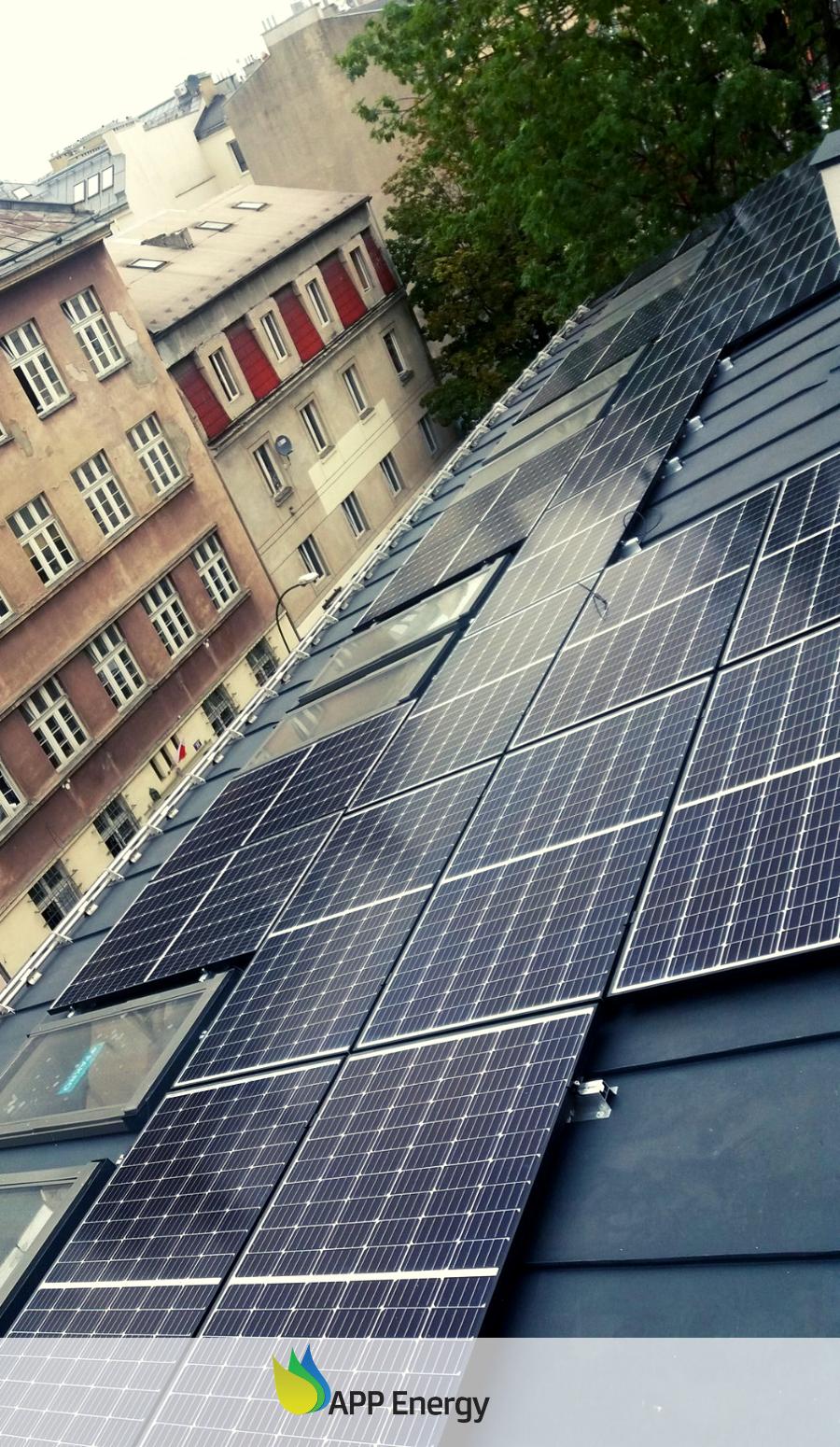 APPenergy wykonało instalację fotowoltaiczną na krakowskim Kazimierzu