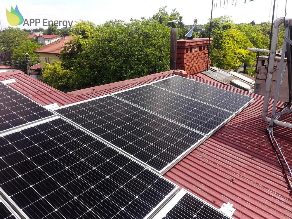 panele fotowoltaiczne z dofinansowania Mój prąd
