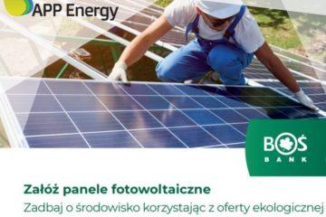 Współpraca APP Energy i BOŚbanku