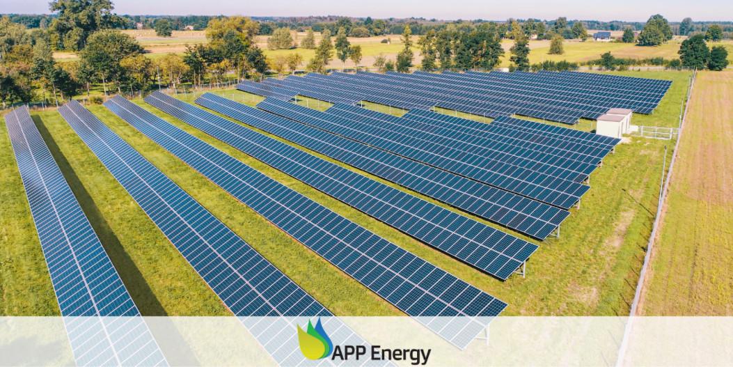farma fotowoltaiczna mieszcząca się w okolicach Lublina, wykonana przez firmę APP Energy Kielce